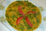 Mama's Punjabi Recipes – Sabat Moong te Palak di Daal   (SPINACH & WHOLE MOONG LENTILS)