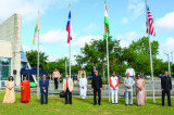 74th Independence Day Celebration at India House Despite Pandemic