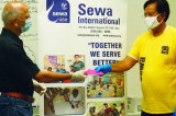 IITAGH Covid-19 Donation Goes to Sewa International