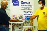 IITAGH Covid-19 Donation Goes to Sewa International