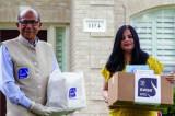 Sewa Houston Volunteer Mans Phone Lines, Organizes Plasma Donations