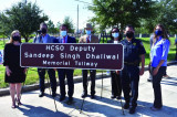 A Year Later, County Honors its Fallen Hero Dhaliwal with Tollway Dedication