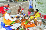 Devotees Perform Bhoomi Pujan for First Hanuman Temple in Brookshire