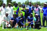 Champions CC Winners of Spring 2020 TCC Taped Ball Tournament