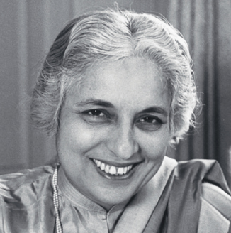 Vijayalakshmi Pandit was the first woman governor of Maharashtra then known as Bombay.