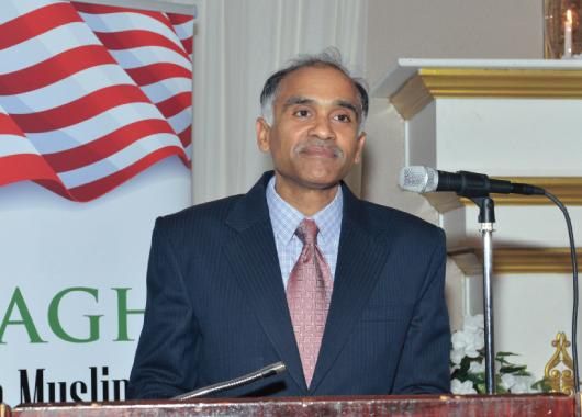 Consul General of India P. Harish presented awards to the founding members.