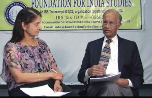 Rao Ratnala, founder of the Ratnala-Bahl, Inc. was interviewed by a retired IT Manager from Chevron, Sita Mutyala