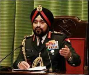 The Army chief is on a two-day visit to Jammu and Kashmir.