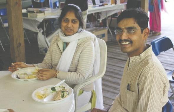 Assistant Director and Director of VYASA, Smitha and Vishwarupa.