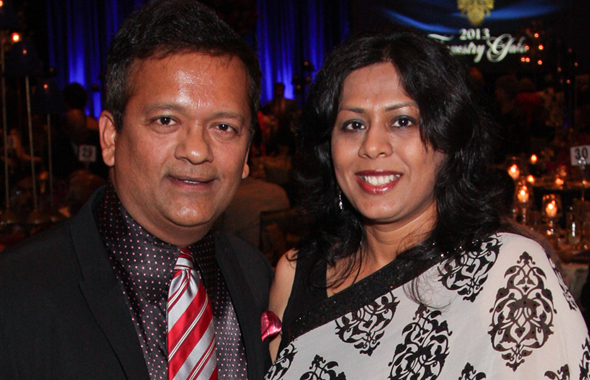 Ash and Leena Shah
