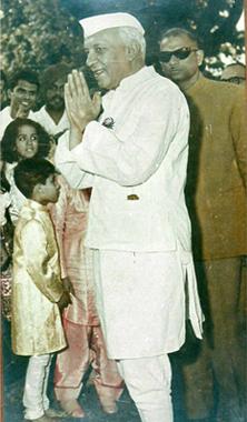 Possibly, Jawaharlal Nehru's last photograph Photo by Jitendra Goyal.