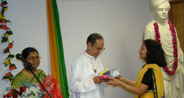 Rama Rao and Meera Rao.