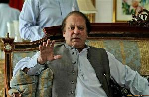 Sharif's party won 123 of the 269 directly elected national assembly seats, the election commission said.