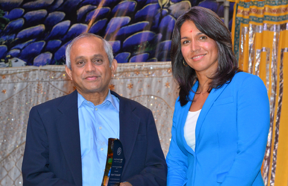 Sri Meenakshi Temple Society was recognized for providing outstanding contributions to youth education and development.
