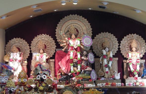 Ratha yatra celebrations at the Houston Durga Bari on Saturday, July 13. Photos: Parth Dwivedi