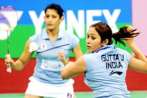 What rubbed salt into Jwala Gutta-Ashwini Ponnappa wounds was that they were bought for a much lesser amount (Jwala for $31,000 and Ashwini for $25,000) than what their earlier base price would have fetched them. (TOI Photo)
