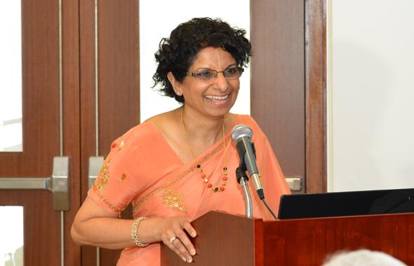 IACAN President Kanchan Kabad
