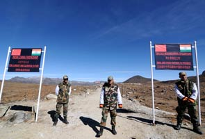 File pic: Indian Army personnel at the India-China border in Arunachal Pradesh