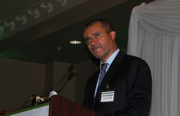 Jamal Bafagih, Member of the Houston Iftar Organizing Committee recognized the dignitaries and sponsors.