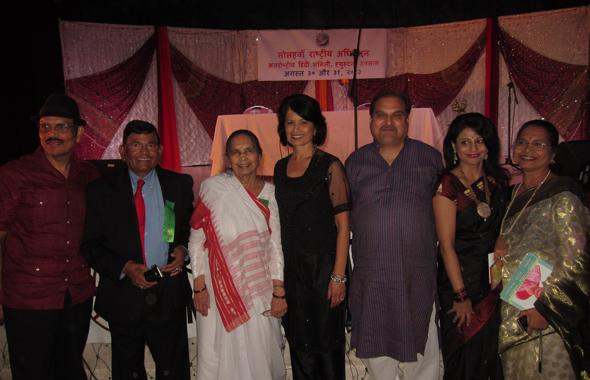 National level directors of IHA board along with Dr. Renu Khator.