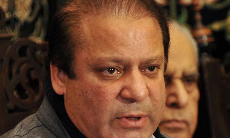 Prime Minister Nawaz Sharif (above) is expected to assure the Sindh government of the support and assistance of the federal government and of proivision of all resoures for the restoration of Karachi's law and order situation during the Sept 3 meeting. — File Photo