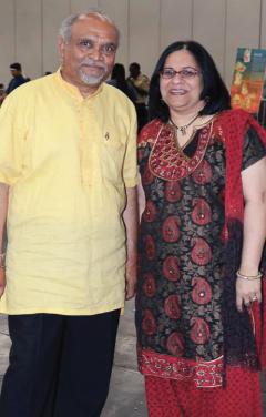 Ajit Patel and Nisha MiraniPhotos: Image N Motion Studio