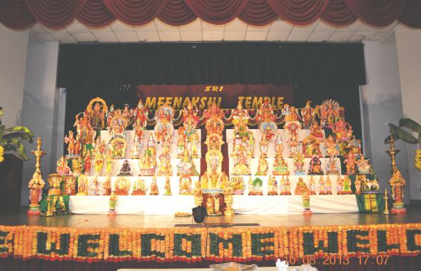 This year's Golu at MTS Kalyana Mandapam