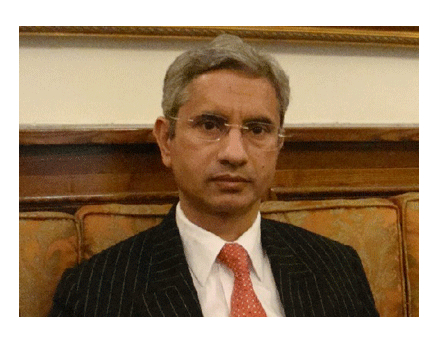 ew Indian Ambassador to the U.S. S. Jaishankar.