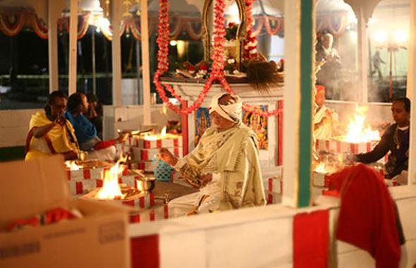 Sri Thanga Bhattar in Yaga Sala