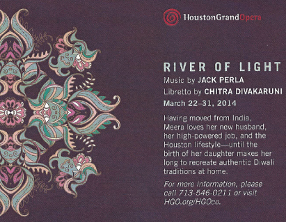 "One of the performances of ""River of Light"" is scheduled to take place at the Meenakshi temple in Pearland."