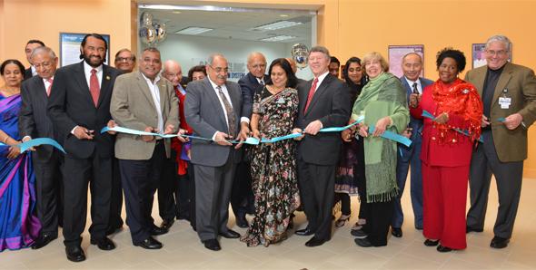 Sareen Clinic ribbon cutting, Photo: Bijay Dixit