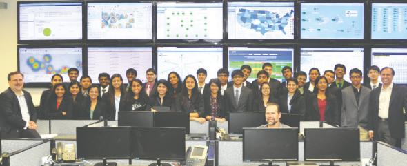 YLDP students visit CHR Solutions.