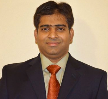 Naresh Kolli, recipient of Young Engineer of Year 2014 Award.