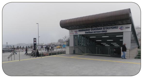 The Uskander Mamaray Station in Asia