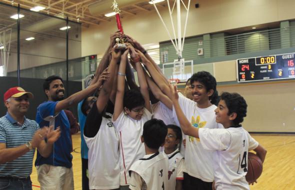 MTS Basketball tournament.