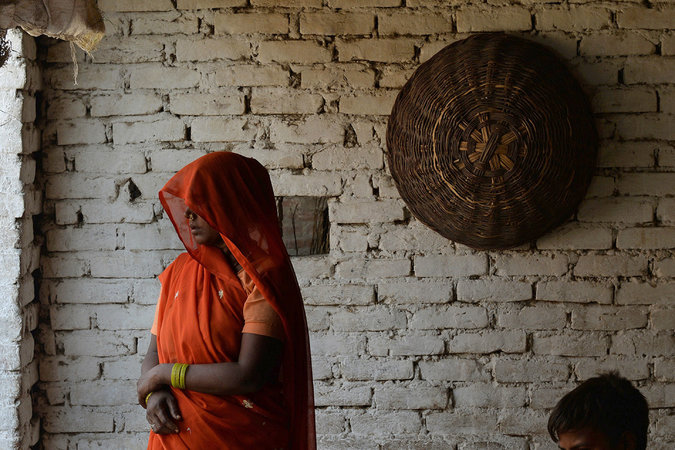 The grandmother of two Indian girls who were raped and hanged in India's Uttar Pradesh state. Credit Chandan Khanna/Agence France-Presse — Getty Images