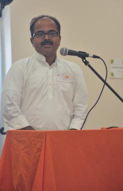 Keynote address delivered by Vijay Simha.