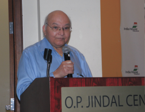 Dr. Virendra K. Mathur, a Trustee of India House, was the resolution arbitrator in case of disputes.