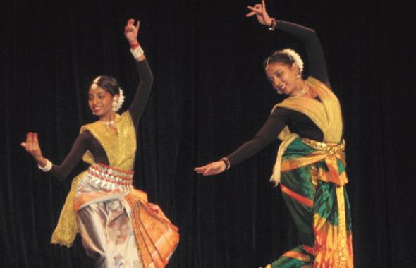 Shalini and Rukmini Das                          Photo: Biren Das Biswas