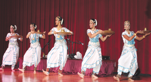 Traditional dances were performed.