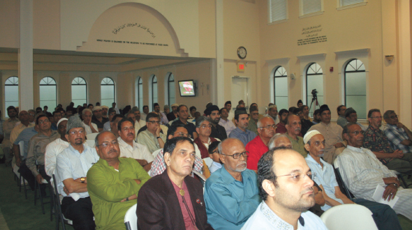 Attendees at the event.