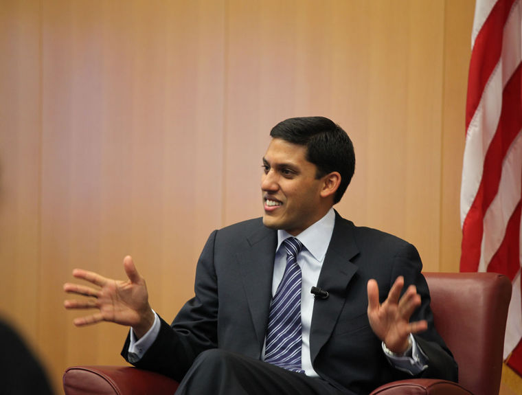 """USAID Administrator Raj Shah said of the projects: """"It's a commitment that reflects a legacy of investment in girls."""" (Wikimedia commons photo)"""