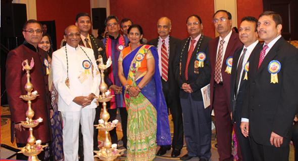 From left: Parag Bajaj - President MMNA, Poonam Bhutada- Convener 2014IMRC, Ram Gopal Mundra-Vice-President-Akhil Bharatvarshiya Mahasabha,Vinod Ajmera - Commissioner Industries-Rajasthan, Jugal Malani - Guest of Honor, Mahesh Rathi - Co-Convener, Sushma Pallod - Chairperson-BoD-MMNA, Ramesh Chandak - Guest of Honor, Krishna Taori - Guest of Honor, Keshavlal Rathi - Midwest Chapter President, Govind Chandak - Guest of Honor, Anurag Bajaj - Guest of Honor.