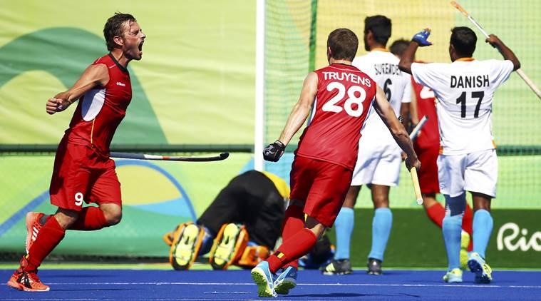 Hockey - Men's Quarterfinal Match Belgium v India