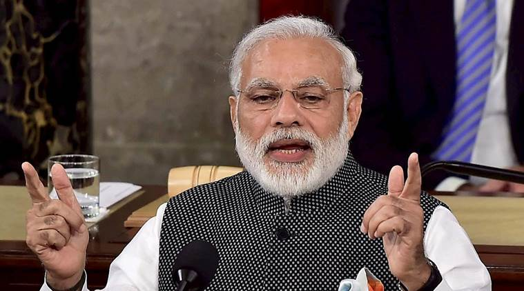 PM Modi in Washington