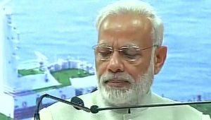 Speaking at a Goa government function near Panaji, Prime Minister Narendra Modi said his drive against corruption and black money, especially the de-monetisation, had put him in the cross-hairs of those who hold black money. (ANI Photo)