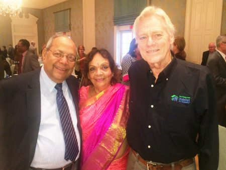 Joint and Wall Sponsors Nat and Leela Krishnamurthy with guest speaker Jim Pate