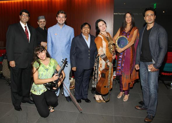 IFFH Board members with the Band Moodafaruka