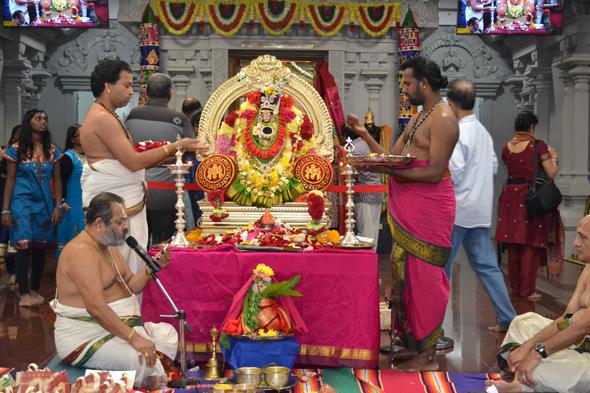 Sri Meenakshi Temple Society in Pearland Photos: Arun Narayanan