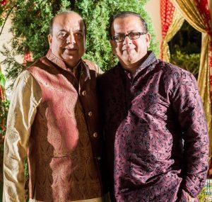 Founder-member Ashok Garg (left) with host Sanjay Rao.